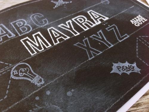 Einschulung Mayra